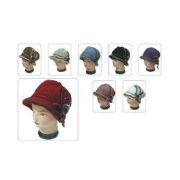 60 Units of Ladies Fashion Hat Heavy With Lnning - Fashion Winter Hats