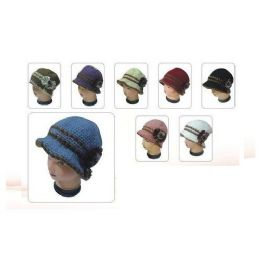 60 Units of LADIES FASHION HAT HEAVY WITH LINING - Fashion Winter Hats