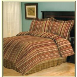 6 Units of 4 Piece Viena Comforter Set Queen Size - Blankets & Bedding