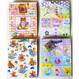 288 Units of Medium Baby Shower Gift Bag - Gift Bags