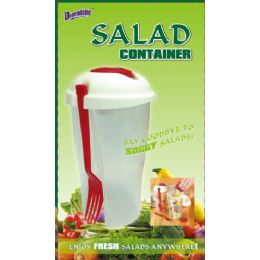 24 Units of Salad On The Go - Kitchen Utensils