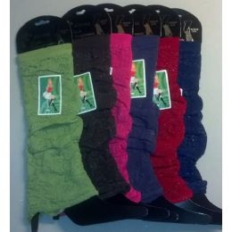 120 Units of Floral Design leg Warmer - Arm & Leg Warmers