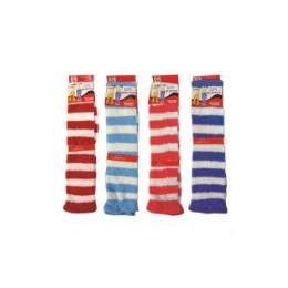 120 Units of ladies Stripe Leg Warmer - Arm & Leg Warmers