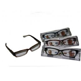 120 Units of Two Tone Plastic Reading Glass With Case - Reading Glasses