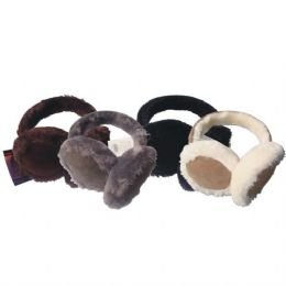 48 Units of Ear Muff Hd W/ Fur - Ear Warmers