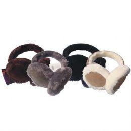 144 Units of Ear Muff HD w/ Fur - Ear Warmers