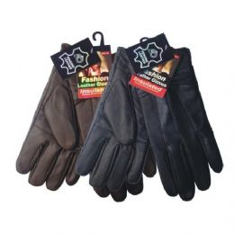48 Units of Winter Glove Genuine Leather Women - Leather Gloves