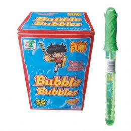 72 Units of Bubble Stick 10.6in - Novelty Toys