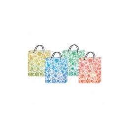 """120 Units of """"XMAS Bag w/ Snow Flakes L 13.5""""""""x11""""""""x3.5"""""""""""" - Gift Bags Christmas"""
