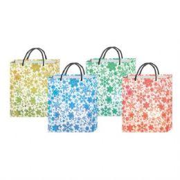 """180 Units of  """"XMAS Bag w/ Snow Flakes M 8.25""""""""x7x3.35"""""""" """" - Gift Bags Christmas"""
