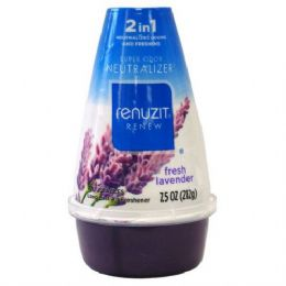 12 Units of Renuzit Adjustable 7.5oz Fresh Lavender - Air Fresheners