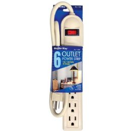 12 Units of 6 Outlet Power Strip - Electrical