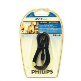 6 Units of Philips Stereo Dubing Cable 3.5 to 3.5 - Cables and Wires