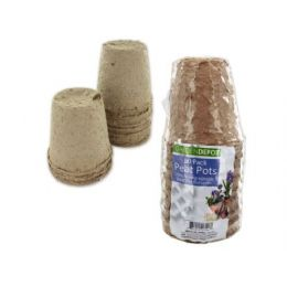 72 Units of Biodegradable peat pots - Garden Planters and Pots