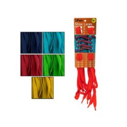 60 Units of Colorful Shoelaces - Footwear Accessories