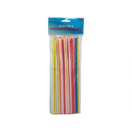 72 Units of Flexible drinking straws - Straws and Stirrers
