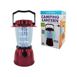 6 Units of LED Hurricane Camping Lantern - Candles & Accessories