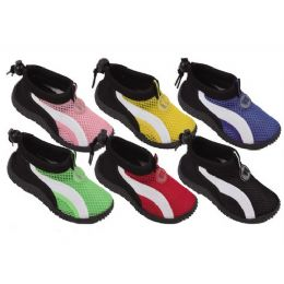 36 Units of Kids Aqua Shoes - Unisex Footwear