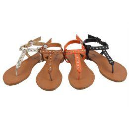 36 Units of Ladies' Fashion Sandals Size 5-10 - Women's Flip Flops