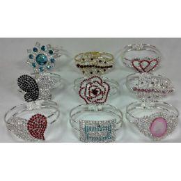 60 Units of Grade A Stones Fashion Bangle - Bracelets