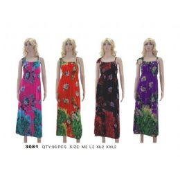 48 Units of Ladies Floral Dress / Summer Dress - Womens Sundresses & Fashion
