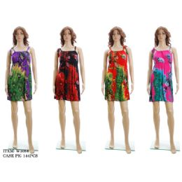 72 Units of Ladies Floral Dress / Summer Dress - Womens Sundresses & Fashion