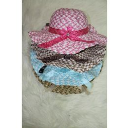 60 Units of Ladies Fashion Summer Hat - Sun Hats