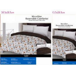 6 Units of Floral Theme Comforter Set Twin Size - Blankets & Bedding