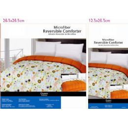 6 Units of Floral Theme Comforter Set Queen Size - Blankets & Bedding