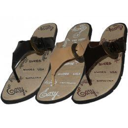 24 Units of Men's Easy Sport Flip Flops - Men's Flip Flops and Sandals