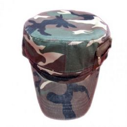 72 Units of Camo Army Baseball Cap - Military Caps