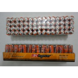10 Units of 60pk AA Batteries-Kingever - Batteries