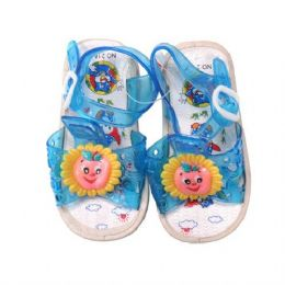 72 Units of Slippers Kid's Flower - Girls Slippers