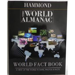 24 Units of Hammond The World Almanac World Fact Book: A View of the World in Maps, Photos, & Facts - Educational Toys