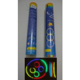 "40 Units of 50pc 8"" Glow Sticks with Connecters - LED Party Supplies"