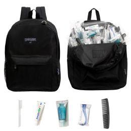 12 Units of 12 Backpacks and 12 Basic Hygiene & Toiletries Kit - Hygiene Gear