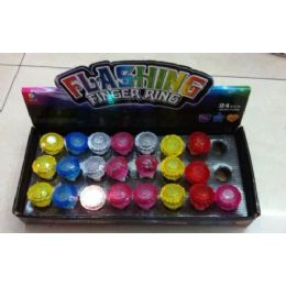48 Units of Light Up Ring - Light Up Toys