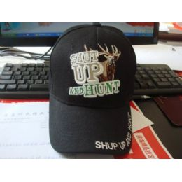 48 Units of Shut Up And Hunt *buck* - Hunting Caps