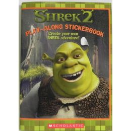 50 Units of Shrek2 Play Along Sticker Book - Stickers