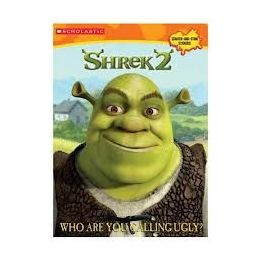 50 Units of Shrek2 Who Are You Calling Ugly Sticker And Coloring Book - Stickers