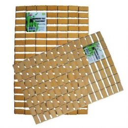 48 Units of Bamboo Placemat 12in by 17in - Placemats