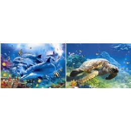 20 Units of 3D Picture-Dolphins & Sea Turtles - Wall Decor