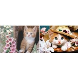 20 Units of 3D Picture-Kittens - Wall Decor