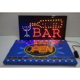 5 Units of Bar Light Up Sign - Displays & Fixtures