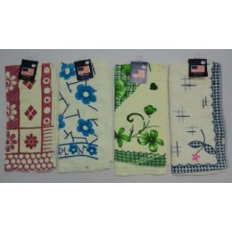 72 Units of Assorted Print Dish Towel - Kitchen Towels