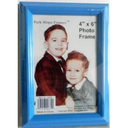 48 Units of 4 x 6 Inch Light Blue PIcture Frame - Picture Frames