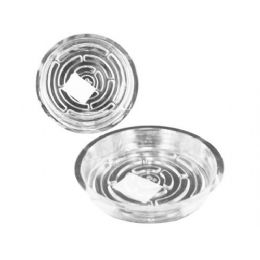 72 Units of Transparent Planter Saucer - Plastic Bowls and Plates