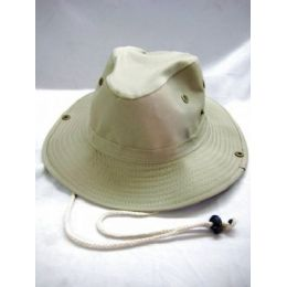 96 Units of Solid Color Boonie Hat 2 Colors - Cowboy & Boonie Hat