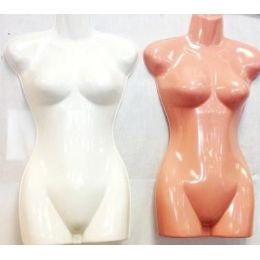36 Units of Half Body Plastic Mannequin/ Dress Models - Displays & Fixtures