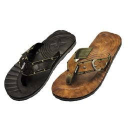36 Units of Mens Sandal With Open back - Men's Flip Flops and Sandals